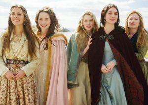 A rainha e suas damas